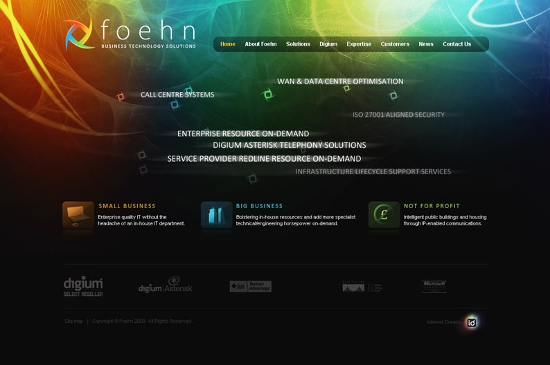 Screenshot on Foehn