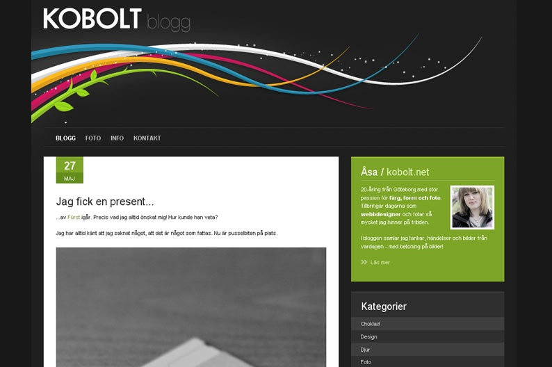 Screenshot on Kobolt