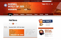 Baseball Worldcup 09 (screenshot)