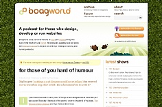 Boagworld web design inspiration