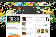 By Marina web design inspiration