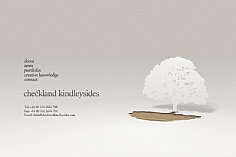 Checkland Kindleysides web design inspiration
