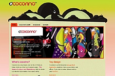 Cocorino web design inspiration