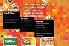 Colour Pixel web design inspiration