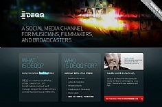 Deqq web design inspiration