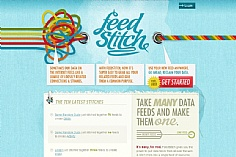 FeedStitch web design inspiration