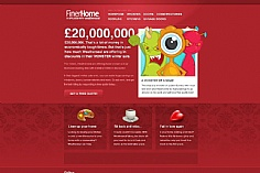 Finer Home web design inspiration
