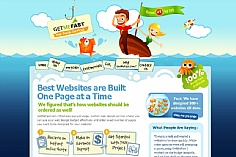 Get Me Fast web design inspiration