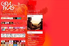 Grafikas web design inspiration