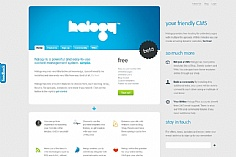 Halogy web design inspiration
