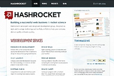 Hashrocket (screenshot)