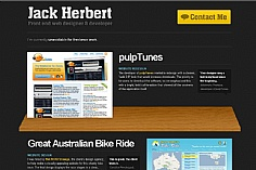 Jack Herbert web design inspiration