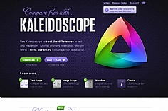 Kaleidoscope web design inspiration