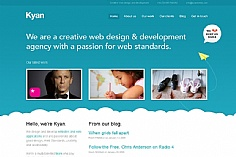Kyan Media web design inspiration