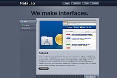 MetaLab web design inspiration