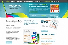 Mooty Graphic Design (screenshot)