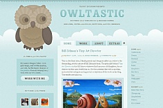 Owltastic web design inspiration