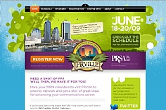 PRville web design inspiration