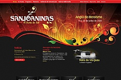 Sanjoaninas web design inspiration