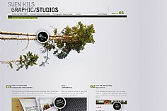 Sven Kils web design inspiration