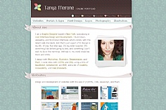 Tanya Merone web design inspiration