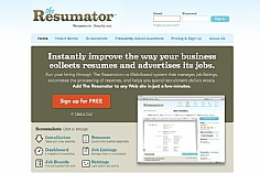 The Resumator (screenshot)
