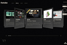 Thetoke web design inspiration