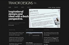 Traxor Designs (screenshot)