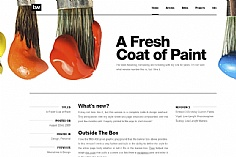Trent Walton 2 web design inspiration