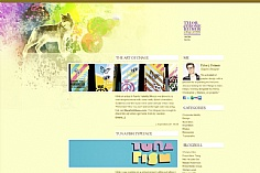 Tylor j. Reimer web design inspiration