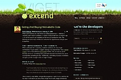 Viget /extend (screenshot)