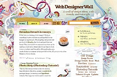 Web Designer Wall (screenshot)