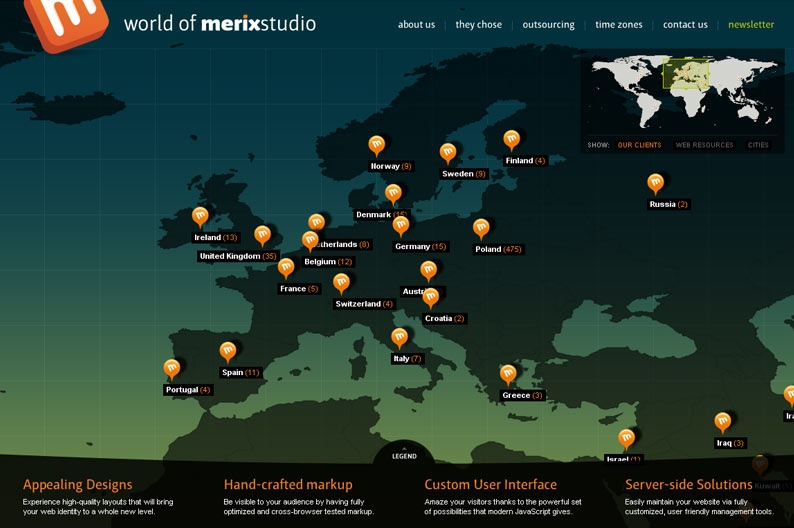 Screenshot on World of Merix Studio